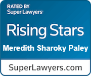 Rising Stars Super Lawyer Badge for Meredith Paley